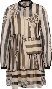 Sukienka Twinset oversize z długim rękawem w stylu casual