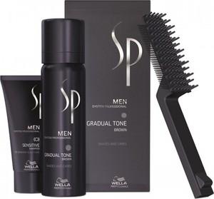 Wella Professionals SP Men Gradual Tone zestaw przywracający kolor włosom: Brąz