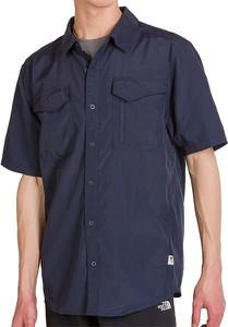 Koszula The North Face z krótkim rękawem z tkaniny