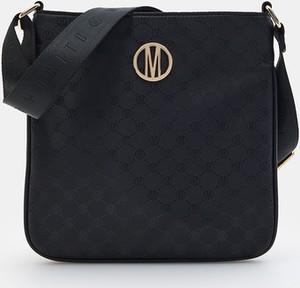 Czarna torebka Mohito średnia