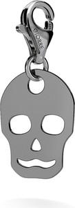 GIORRE SREBRNY CHARMS CZASZKA 925 : Kolor pokrycia srebra - Pokrycie Czarnym Rodem