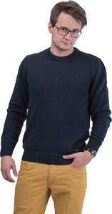 Granatowy sweter M. Lasota