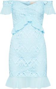 Niebieska sukienka Love Triangle