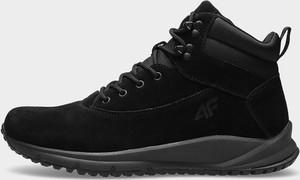 Różowe buty trekkingowe 4F
