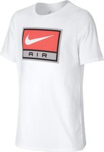Koszulka dziecięca Nike z bawełny z krótkim rękawem