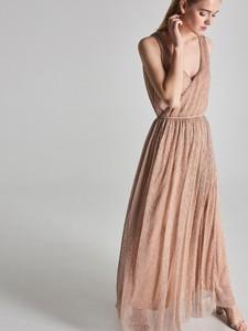 Różowa sukienka Sinsay maxi