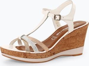 Sandały Tamaris na średnim obcasie w stylu casual