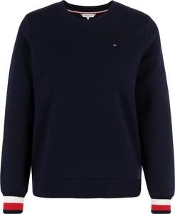 Bluza Tommy Hilfiger krótka w stylu casual