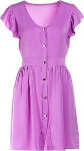Fioletowa sukienka Multu