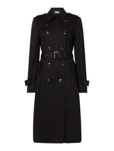 Czarny płaszcz Jake*s Collection w stylu casual