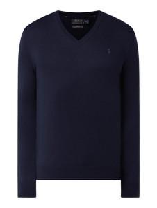 Turkusowy sweter POLO RALPH LAUREN w stylu casual