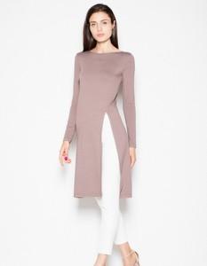 Różowa bluzka Venaton w stylu casual