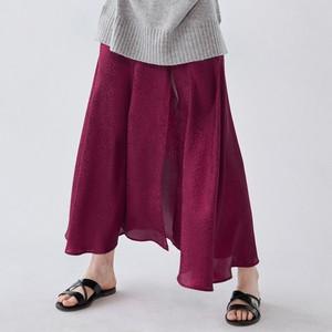 Czerwona spódnica Sinsay midi