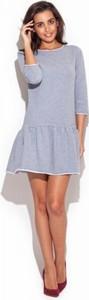Sukienka Katrus z długim rękawem mini