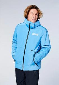 Niebieska kurtka Chiemsee w sportowym stylu krótka