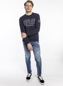 Bluza Replay w młodzieżowym stylu z polaru