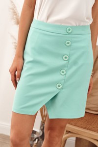 Zielona spódnica Fasardi mini