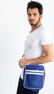 Niebieska torebka Sheandher.pl ze skóry ekologicznej