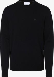 Granatowy sweter Calvin Klein