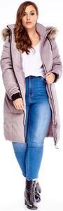 Kurtka TAGLESS długa w stylu casual