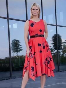 Czerwona sukienka Lizabella