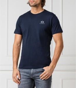 T-shirt La Martina z krótkim rękawem w stylu casual