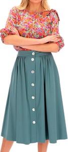Niebieska spódnica L'AF midi