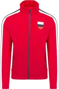 Czerwona bluza Toni Sailer z plaru