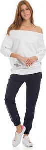 Spodnie sportowe Galvanni w młodzieżowym stylu z dresówki z długim rękawem