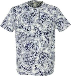 Niebieski t-shirt Etro