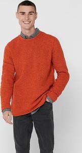 Czerwony sweter Only & Sons