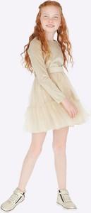 Sukienka dziewczęca Mayoral z bawełny