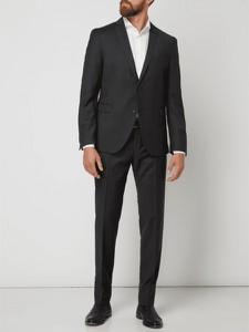 Czarny garnitur Cinque