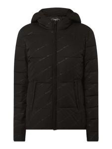 Czarna kurtka Champion w stylu casual krótka