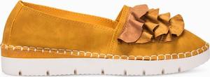 Żółte półbuty LaRica w stylu casual