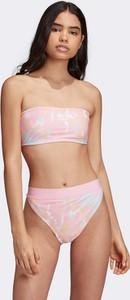 Różowy strój kąpielowy Adidas Originals z nadrukiem