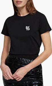 Czarny t-shirt Karl Lagerfeld