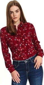 Koszula Top Secret z kołnierzykiem z tkaniny