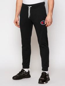 Czarne spodnie sportowe Champion w sportowym stylu