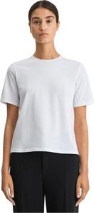 T-shirt Filippa K z krótkim rękawem z okrągłym dekoltem