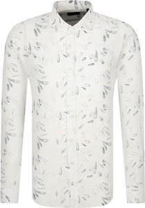 Koszula Joop! z długim rękawem w młodzieżowym stylu z lnu