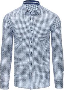 Koszula Dstreet z kołnierzykiem button down z bawełny
