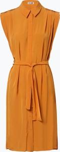 Pomarańczowa tunika Drykorn bez rękawów w stylu casual