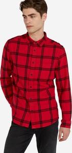 Czerwona koszula Wrangler z długim rękawem