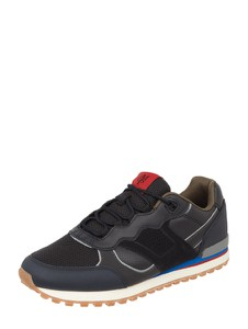 Granatowe buty sportowe Marc O'Polo sznurowane