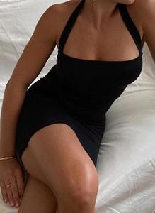 Sukienka Arilook w stylu casual z okrągłym dekoltem ołówkowa