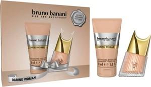 Bruno Banani, Daring WoMan, zestaw, woda toaletowa, spray, 20 ml + balsam do ciała, 50 ml