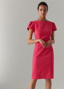 5e91ef482e Różowa sukienka Mohito