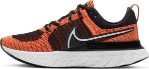 Buty sportowe Nike z tkaniny sznurowane z płaską podeszwą