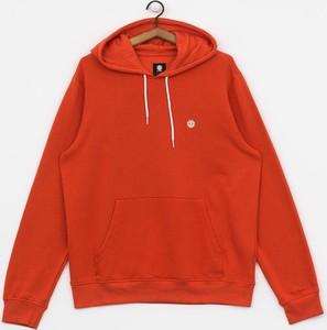 Czerwona bluza Element z bawełny